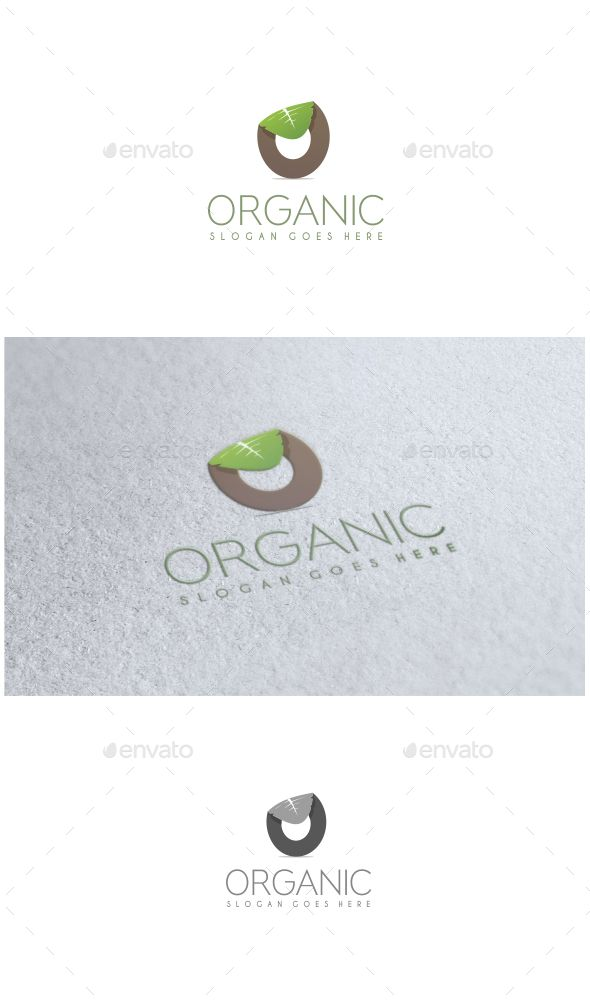 Organic - Logo Design Template Vector #logotype Download it here: http://graphicriver.net/item/organic-logo/11441393?s_rank=855?ref=nexion