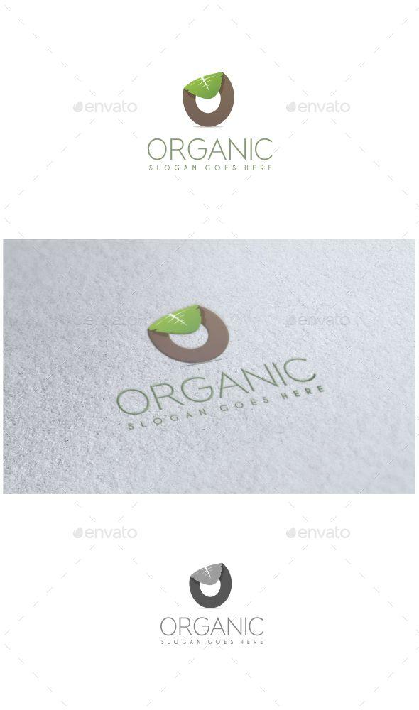 Organic - Logo Design Template Vector #logotype Download it here: http://graphicriver.net/item/organic-logo/11441393?s_rank=855?ref=nexion