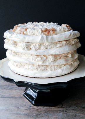 Torta merengue castaña
