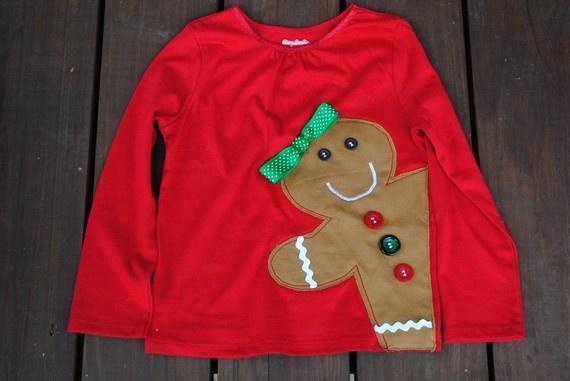 Gingerbread Girl Shirt