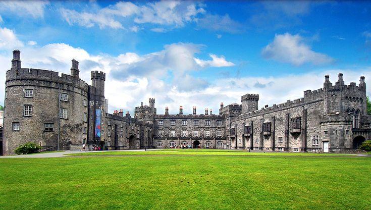 Slottet Kilkenny i Irland #kilkenny #castle #kilkennycastle #slott #irland #ireland