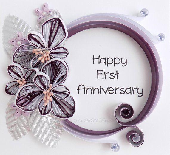 First Anniversary Gift Happy Anniversary Gift Anniversary Etsy Happy Anniversary Gifts Wedding Anniversary Wishes First Anniversary Gifts