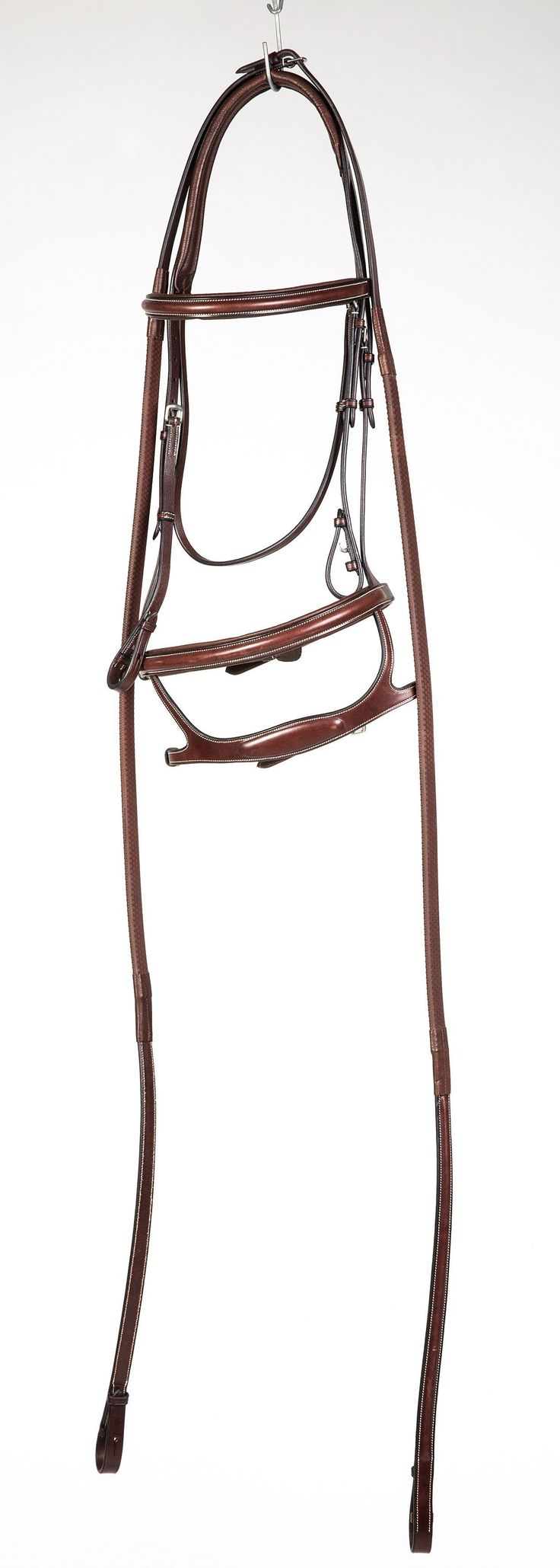 Equiline Bridle with Double Noseband BJ118