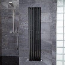 Nevada Beta Heat 1600 x 360 Single Panel Black Radiator
