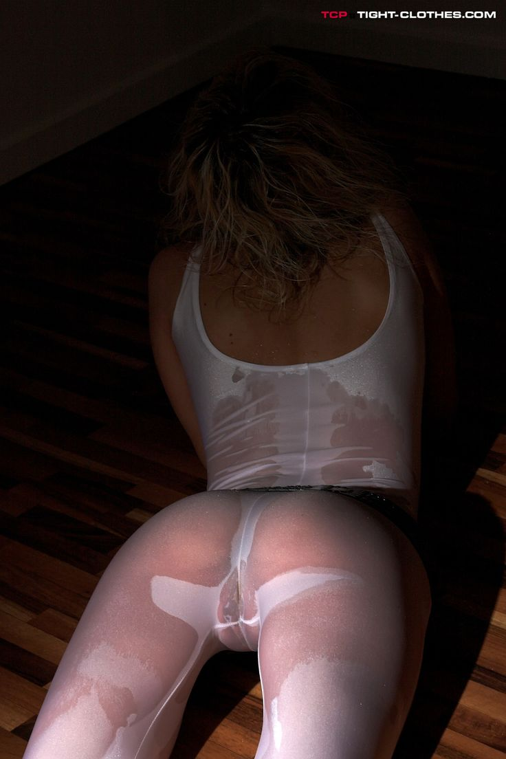 spandex and wet pussy