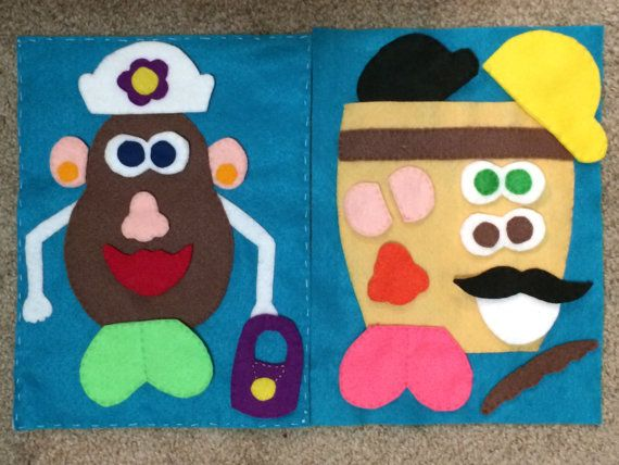 Felt Quiet Book for Toddlers (helps with motor skils) on Etsy, $80.00