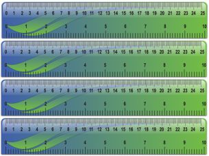 Give a like for free printable rulers!