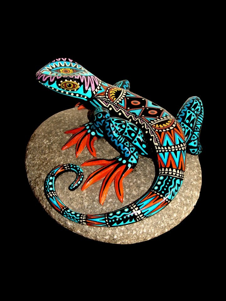 Lagarto e iguana tótems chamánicos. Animal que alerta, que previene, que avisa que cuida, y que protege. Es un amuleto mágico que sólo da cosas buenas, pero sobre todo protege del mal, y está como bendito para conseguir cambiar la suerte.