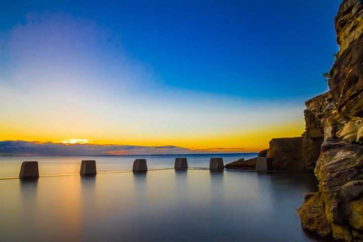 Sunrise At Ross Jones Memorial Pool, Coogee