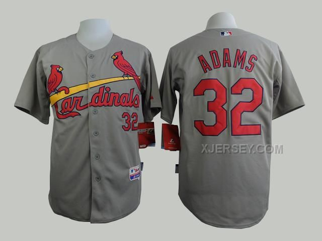 http://www.xjersey.com/cardinals-32-adams-grey-cool-base-jersey.html CARDINALS 32 ADAMS GREY COOL BASE JERSEY Only $35.00 , Free Shipping!