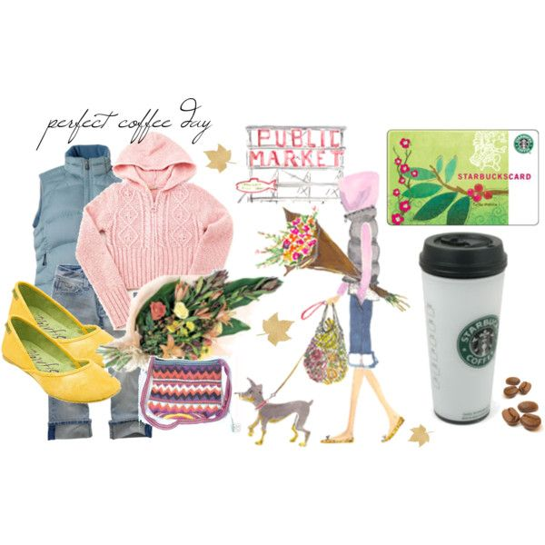 Perfect Coffee Day, created by mzlorraine.polyvore.com