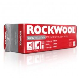 Rockwool Insulation TD Multirock 100mm X 400mm X 1200mm Pk 6