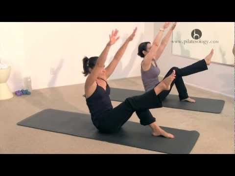 Pilates 20 Minute Flowing Mat Class with Tiziana Trovati WORKOUT - YouTube