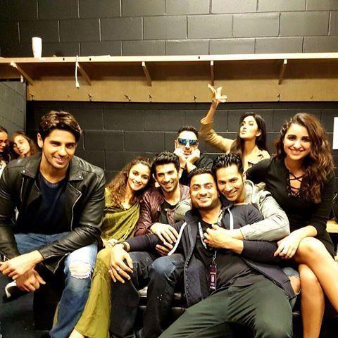 Katrina, Alia, Varun, Sidharth, Parineeti, Aditya look adorable as they pose…
