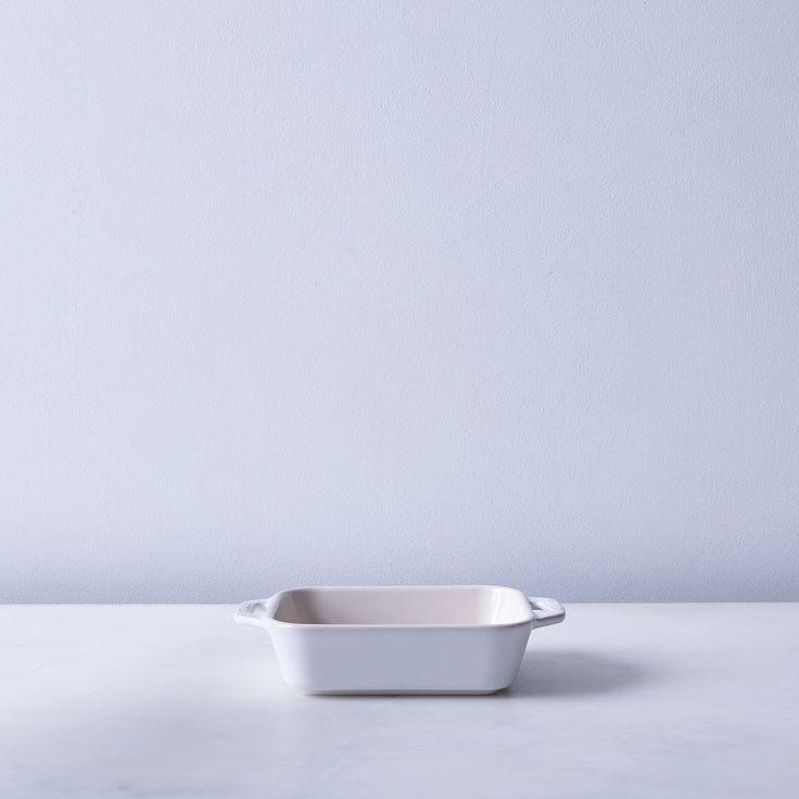 Staub Ivory Rustic Ceramic Rectangular Baking Dishes