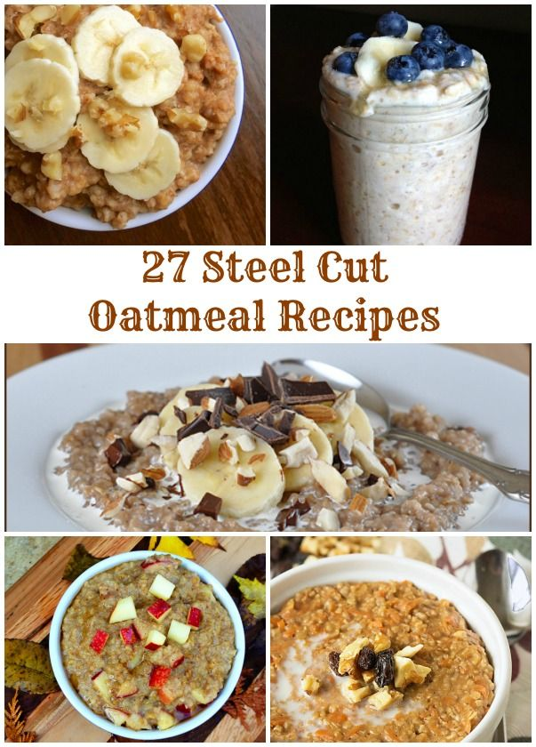 27 Steel Cut Oatmeal Recipes - The Lemon Bowl: Oatmeal Breakfast, Bowls Oatmeal, Recipes Collection, Oats Recipes, 27 Steel, Oatmeal Steelcutoat, Lemon Bowls, Steel Cut Oatmeal, Oatmeal Recipes