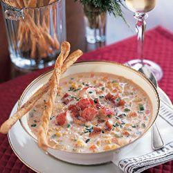 New England Lobster Corn Chowder