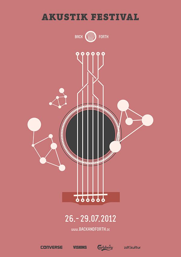 Back and Forth Music Festival on Behance