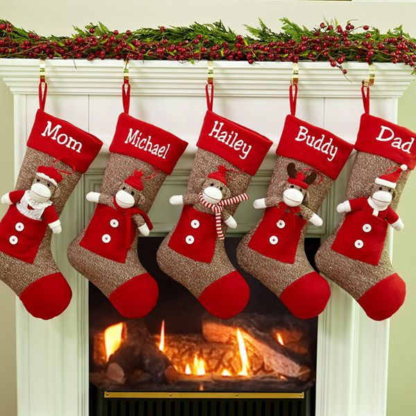 Can't wait to see all my nephews and my wee girl's stockings together this year!