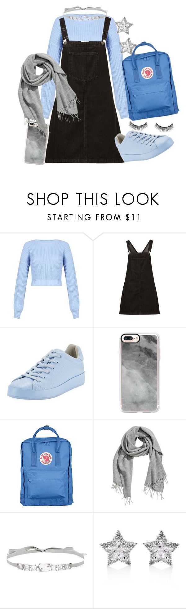 """Nella"" by jc-007 on Polyvore featuring rag & bone, Casetify, Fjällräven, Jenny Packham, CZ by Kenneth Jay Lane and Battington"