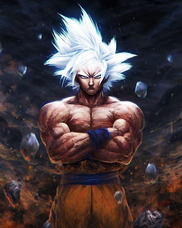 Mastered Ultra Instinct Goku Good Morning Follow My New Account Saiyanstan Anime Dragon Ball Super Dragon Ball Super Goku Goku Wallpaper