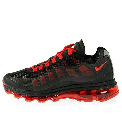 Nike Air Max 95 360 (GS) Boys Running Shoes 512169-002 ? Shoe