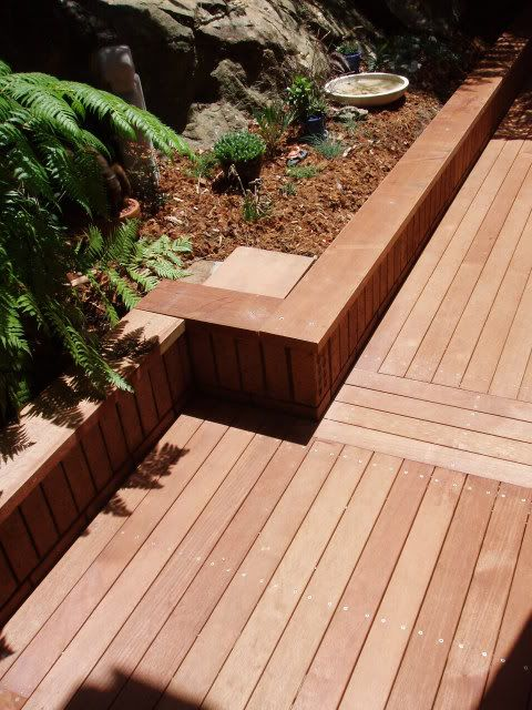 Decking over concrete outdoors?