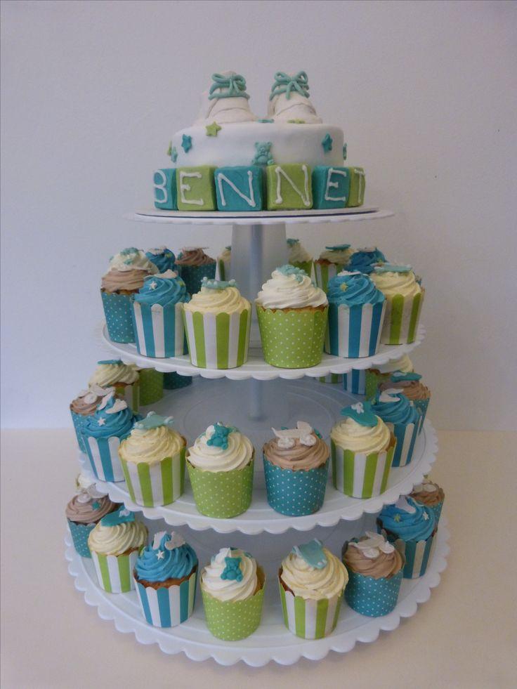 Cupcakes, Christening Cake, Taufkuchen, Tauftorte, boy, Cake, Tauftorte, Junge, Cake Cube, Konz, Niedermennig, Trier, Babyschuhe, Torte (Cake Boy)