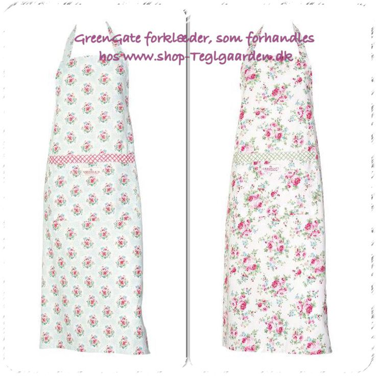 Skønne forklæder fra GreenGate.