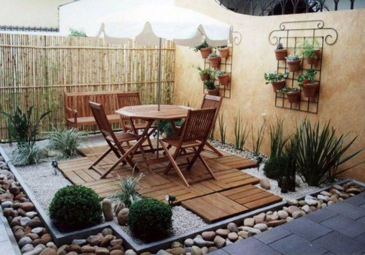 Eco ideas y reciclaje ideas para jardines peque os for Reciclaje para jardin
