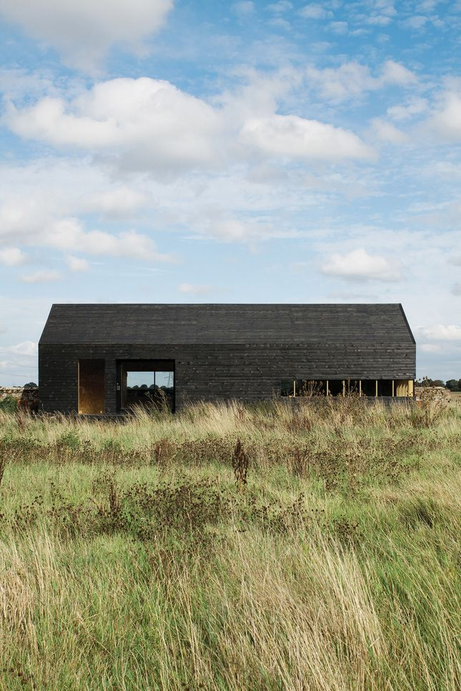Ochre Barn by Carl Turner Architects is a multi purpose development that houses a retreat, studio space and a private residence.