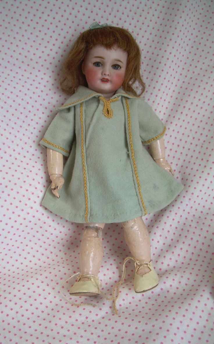Ancienne Poupee Porcelaine Unis France 1 Bleuette Antique Doll 27cm Circa 1925 | eBay