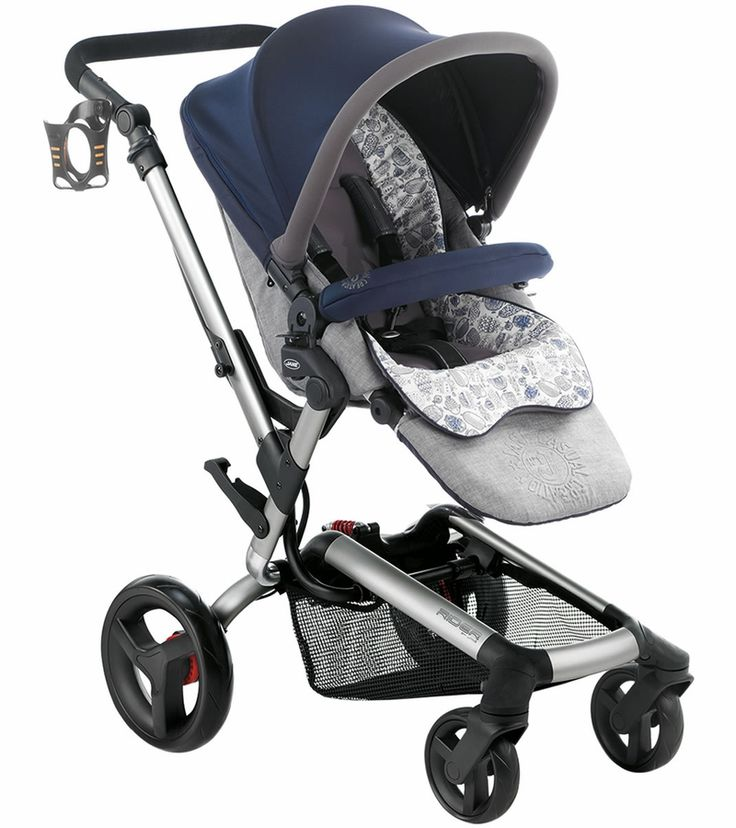 Jane Rider Stroller 2014 Blue Moon