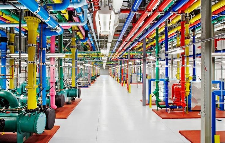 Googles Rechenzentrum in Bildern