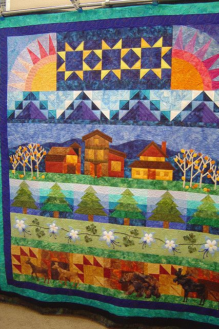 row quilt