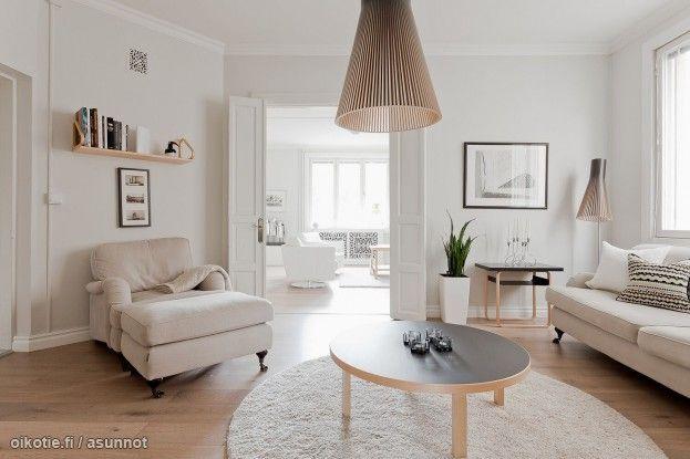 Myytävät asunnot, Maariankatu 12, 20100 Turku #oikotieasunnot #olohuone #livingroom #koti #home #Turku