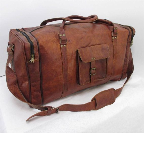 Best 25  Leather duffle bag ideas on Pinterest