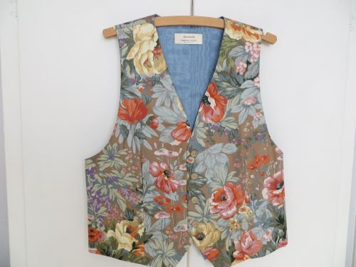 Mens Luxury Floral Waistcoat 38 - 40 Unique Design. £39.99. THIS WAISTCOAT HAS NOW BEEN SOLD.