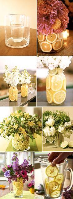 Arranjo-flores-frutas