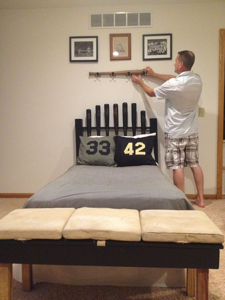 How Not To DIY Baseball Themed Bedroom