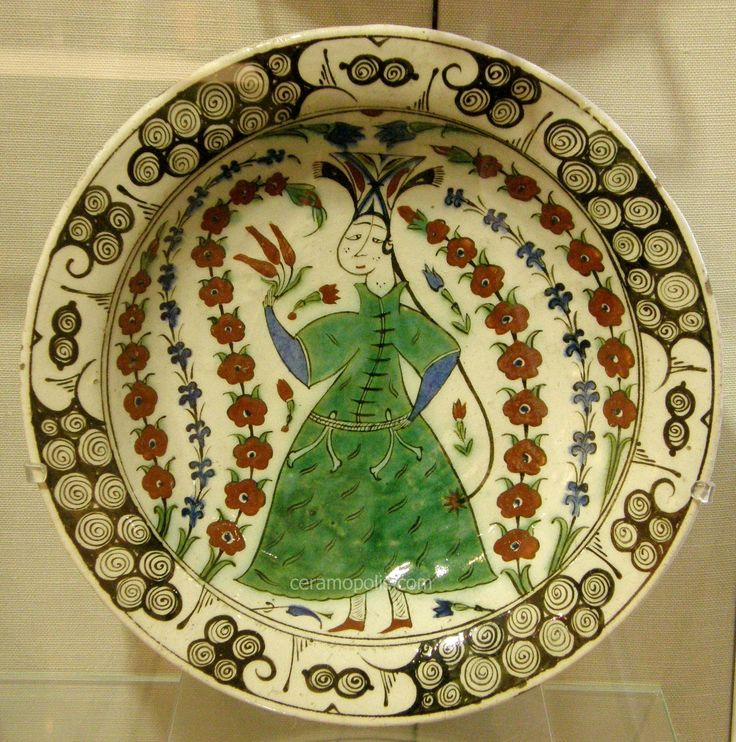 Iznik 17th - Benaki Museum Athens Greece