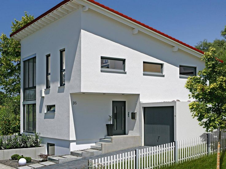 Musterhaus mit garage  30 besten Fertighaus Bilder auf Pinterest | Grundrisse, Hausbau ...