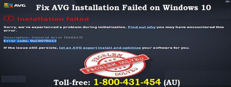Contact 1-800-431-454 to the right answers for How to Solve AVG Not Installing on Windows 10 Problems is right here with easy methods and right steps guided by the antivirus experts. The whole process is defined clearly while understanding and needs of the problems. This troubleshooting process is explained by the experts backed with online tech support for AVG antivirus issues.