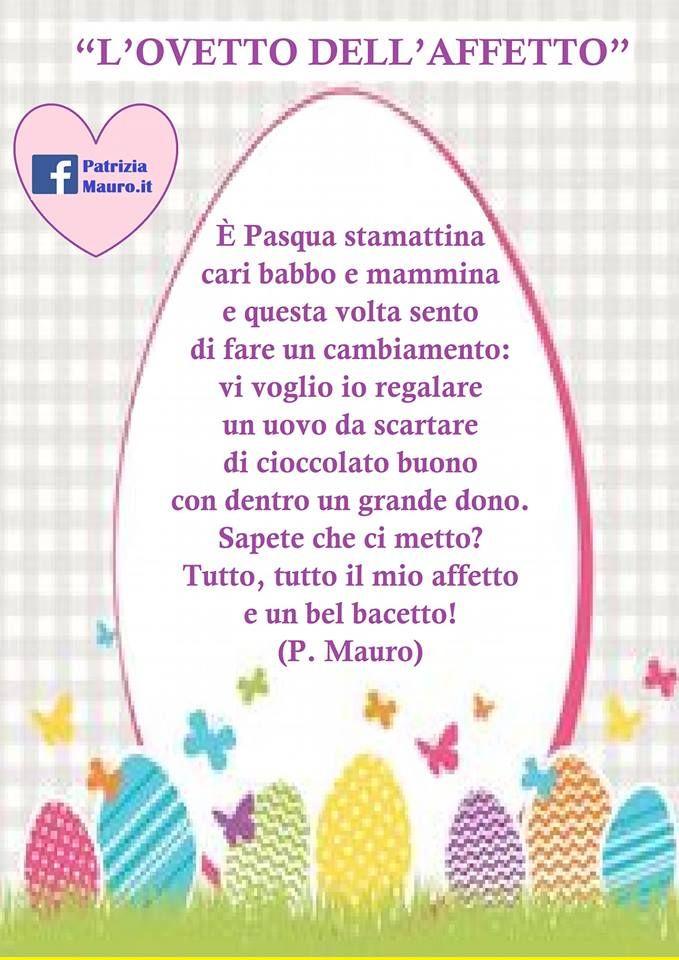 Una bella e nuova poesia di Pasqua scritta dalla Maestra Patrizia Mauro da leggere e/o recitare, adatta ai bambini della scuola dell'infanzia ma anche ai bimbi più grandini della primaria.