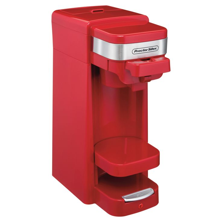 Proctor Silex 14oz. Single Serve Coffee Maker - Red 49977