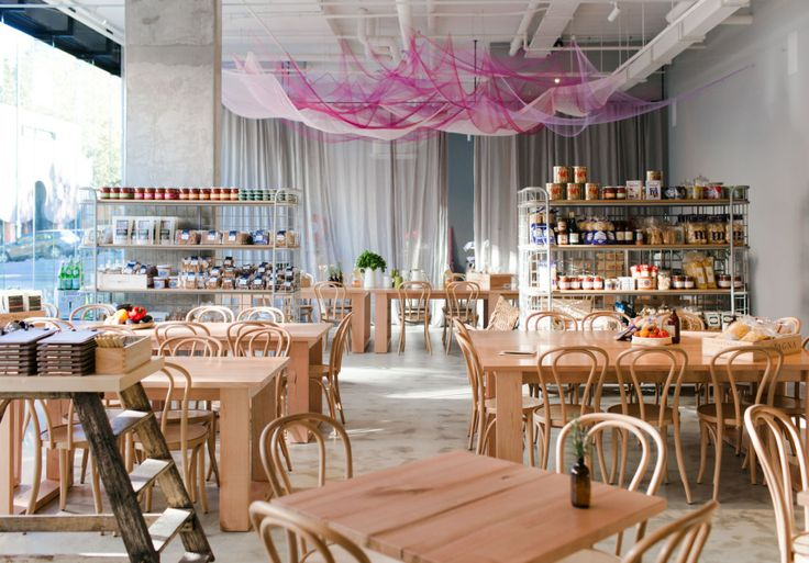 A new deli, wine bar and restaurant all-in-one.