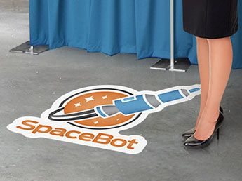 Best Floor Graphics Images On Pinterest Floor Graphics - Decals for boat carpetprojects by eye candy signs