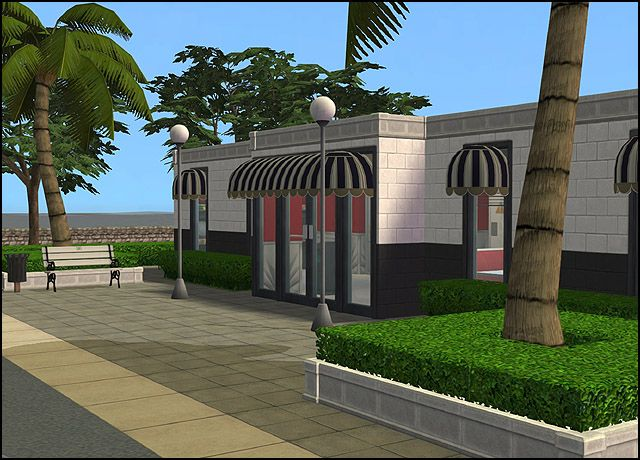 Red's Famous '50s Diner - Anna's Sims