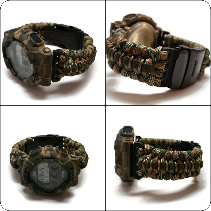 21 best images about very cool g shock on pinterest for Cool things to do with paracord