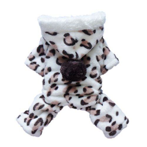 Adorable Leopard Dog Coat for Dog Hoodie Dog Clothes Soft Cozy Pet Clothes,M - http://www.thepuppy.org/adorable-leopard-dog-coat-for-dog-hoodie-dog-clothes-soft-cozy-pet-clothesm/